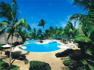 Tropical Beach Resort in Malindi