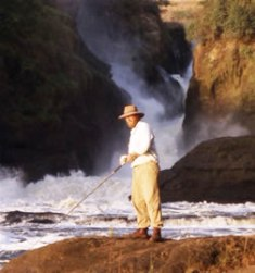 Sport fishing in Murchison Falls
