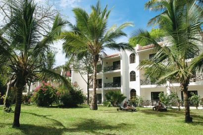 accommodation rooms of Diani Beach from outside