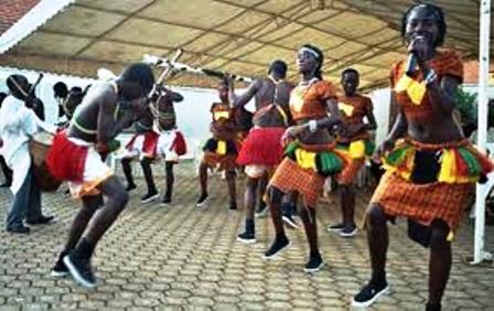 lugbara traditional dancers