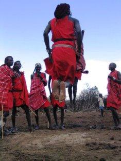 Traditional Sports among the Maasai People