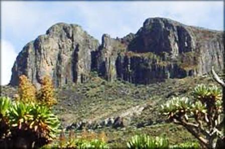 Mount Elgon is via Kitale