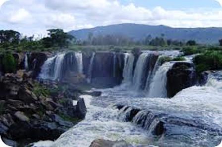 water falls of Ol Donyo Sabuk National Park