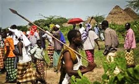 War with neighboring tribe Pokot
