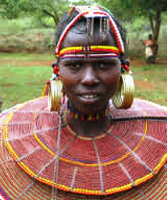 The Traditional Dress of the Pokot in Kenya