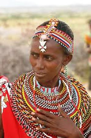 Women are in charge of maintaining the portable huts,