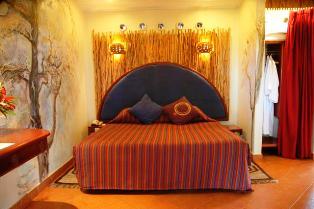 Overnight at Amboseli Serena Lodge.