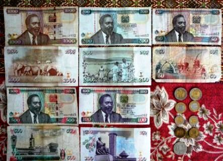 Kenya Currency notes