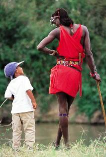 the masi people of masai mara game reserve
