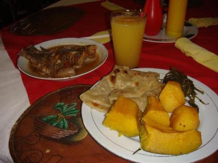 Jumba Ruins Monsoons Restaurant Mombasa