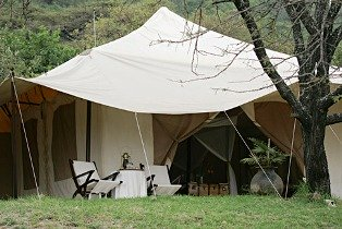 mobile tented camps.