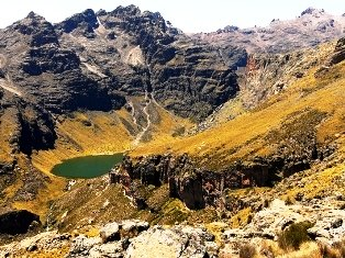 Major attractions in Mount Kenya