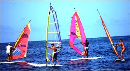 Kite Surfing in Mombasa