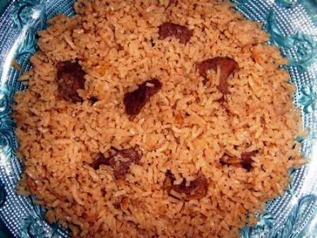 How to Make Kenya pilau rice with beef