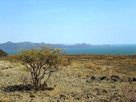 Lake Turkana's Central Island.