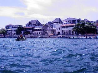the prestine waters of Lamu Town Hotels