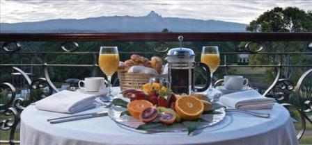 Safari Lunch to Mt Kenya