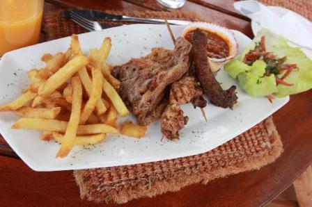 Nairobi Le Rustique restauran