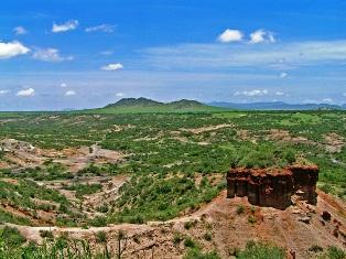 Olduvai Gorge.