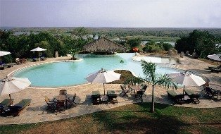 Paraa Safari Lodge.