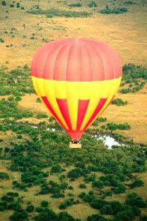 Baloon Masai Mara National Reserve