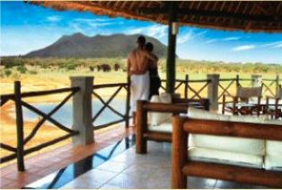 Voi Wildlife Lodge and Safari Spa in Tsavo National Park Kenya