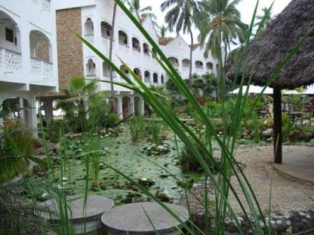 Accommodation in Zanzibar at Serena Inn in Stone Town.
